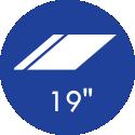 19 Polegadas