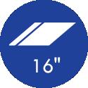 16 Polegadas