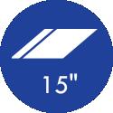 15 Polegadas