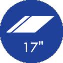 17 Polegadas