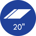 20 Polegadas