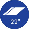22 Polegadas