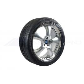Conjunto 4 Jantes e Pneus BMW X5, X6