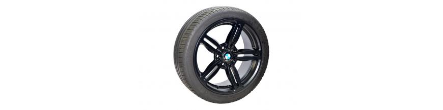 """Conjunto 4 Jantes 19"""" e Pneus BMW Série 5"""