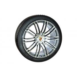 "Conjunto 4 Jantes 21"" e Pneus Pirelli Porsche Cayenne"